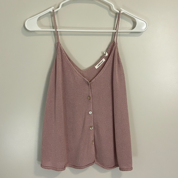 Tops - Light Pink Knitted Top
